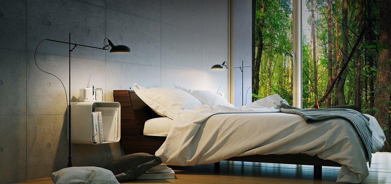 Sol Organics Bed